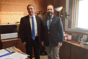 Συνάντηση με το νέο Διοικητή του ΑΓΝΝΒόλου