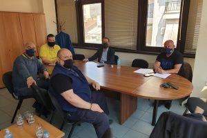 Συνεργασία του Κων. Μαραβέγια με τη διοίκηση του ΕΚΒ  για τις αλλαγές στα εργασιακά