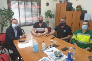 Συνάντηση του Κων. Μαραβέγια με το Σωματείο της ΑΓΕΤ για το υπό διαβούλευση εργασιακό νομοσχέδιο